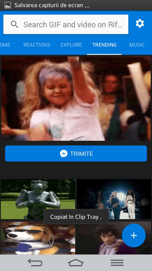 Aplicatia Gif Keyboard sau cum sa trimiti rapid mesaje video gif pe Messenger sau Whatsapp
