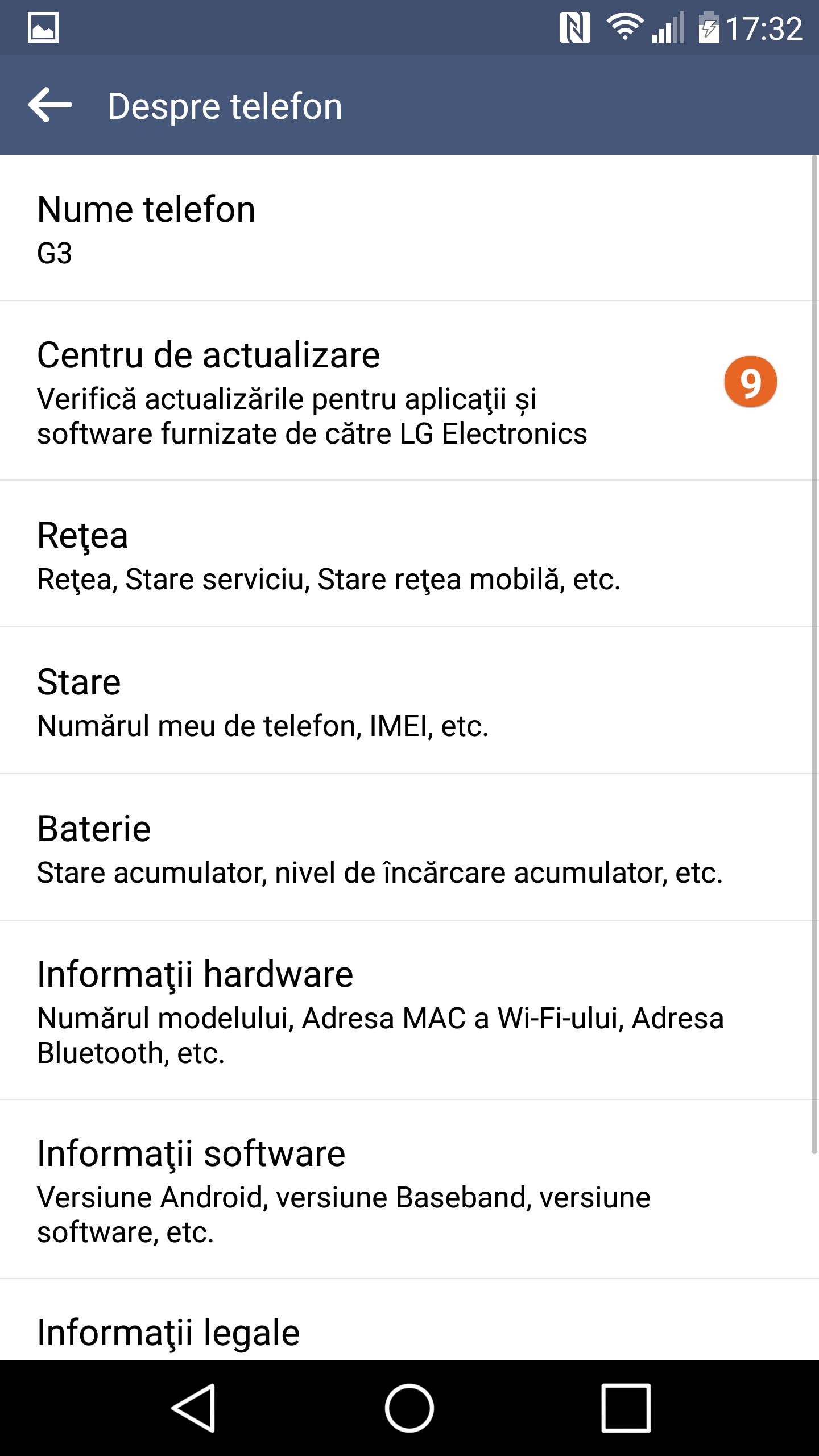 Instalare Android 6 Marshmallow oficial D85530B_00_1217.kdz pe LG G3
