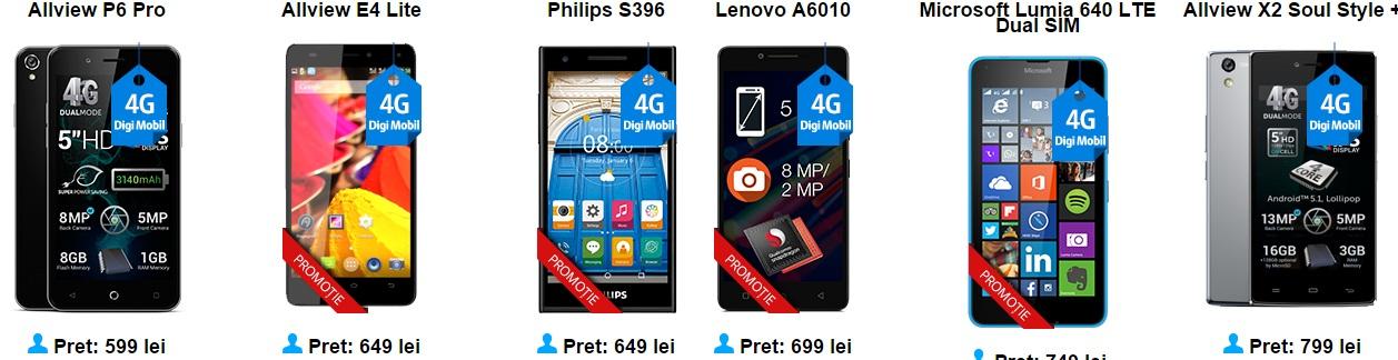 ererer Ce telefoane merita sa cumperi de la Digi Mobil? Iata cateva pareri in functie de buget