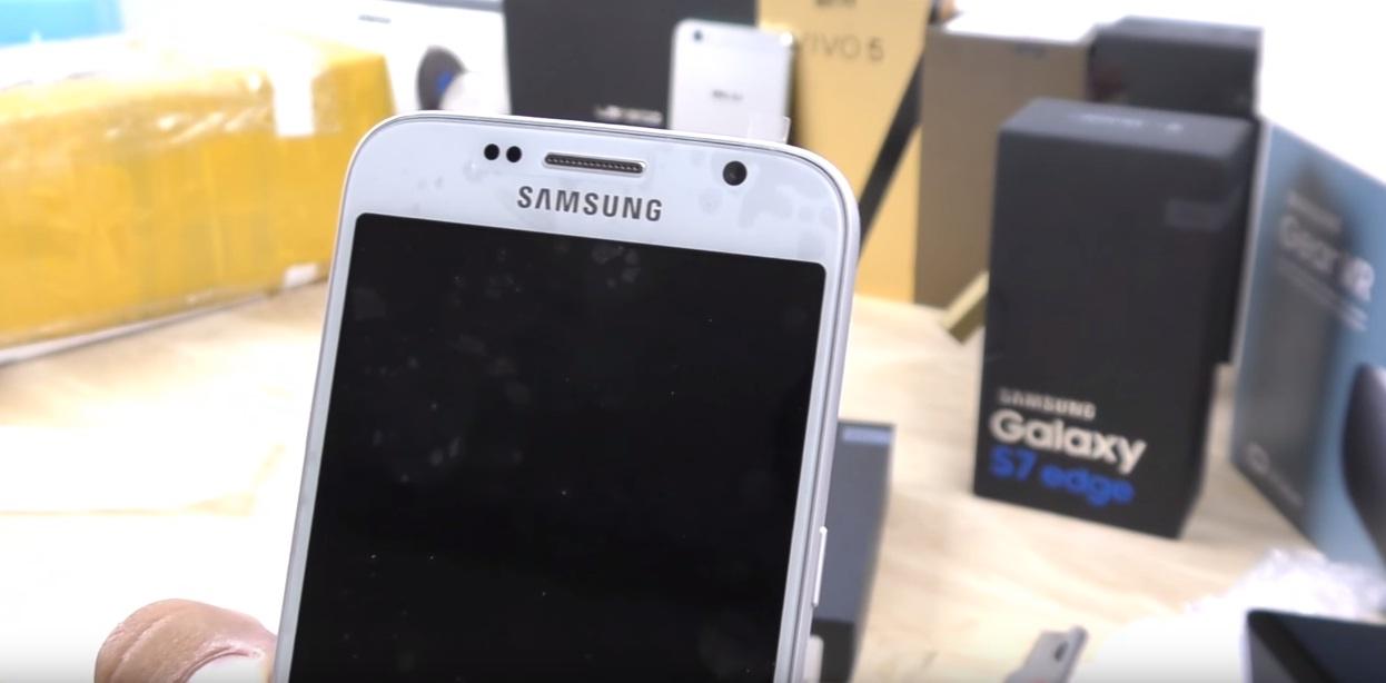 11 Goophone S7 este prima replica sau clona Samsung Galaxy S7, VIDEO