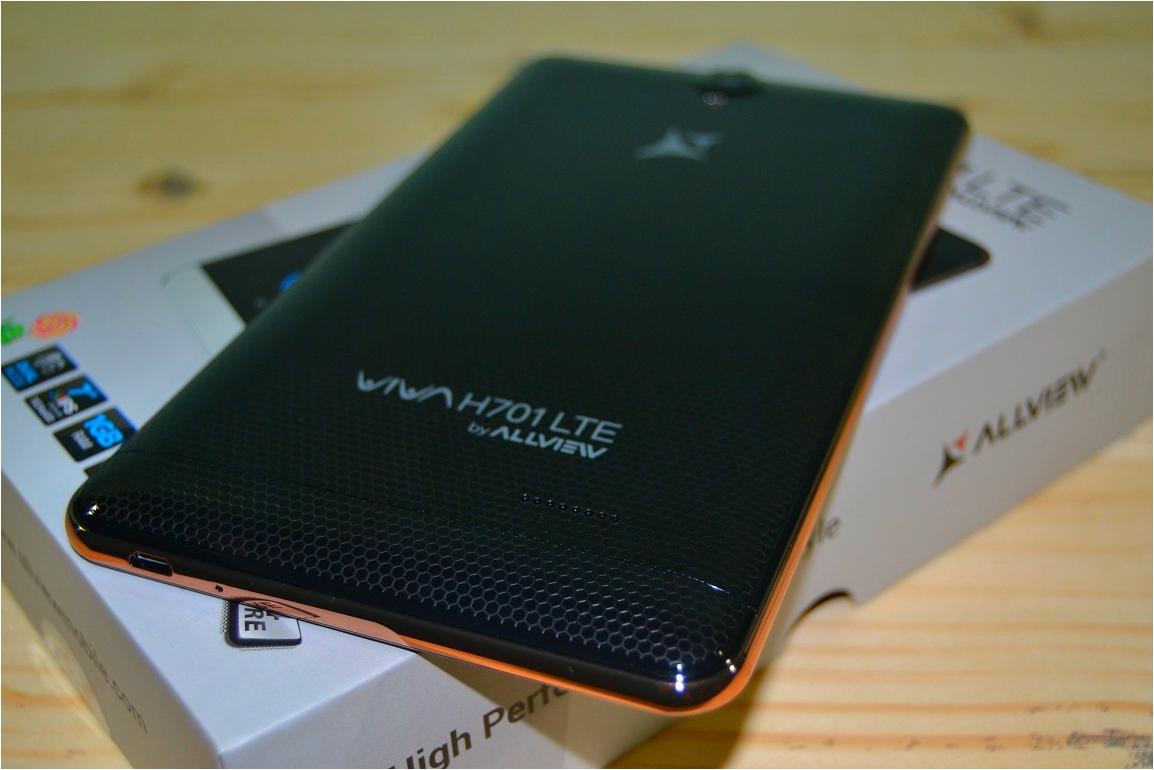 Unboxing si CONCURS, Allview VIVA H701 LTE
