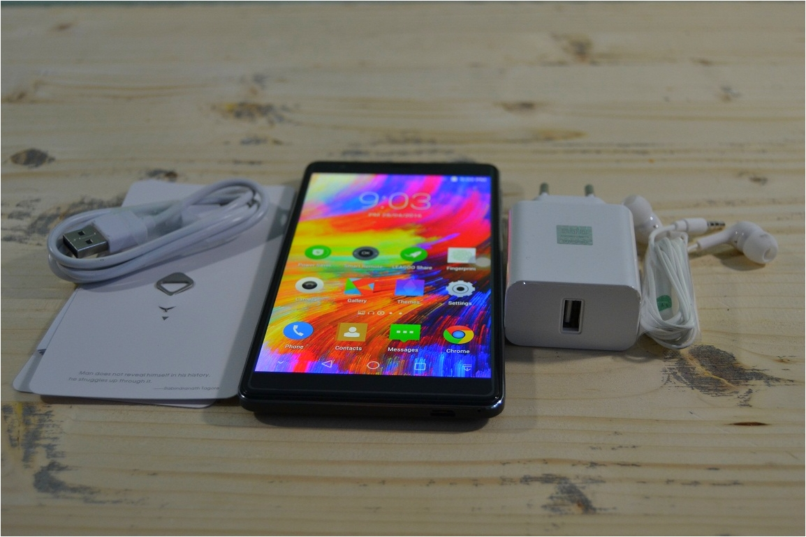 "UNBOXING Leagoo Shark 1, un telefon de 6"" aproape perfect!"