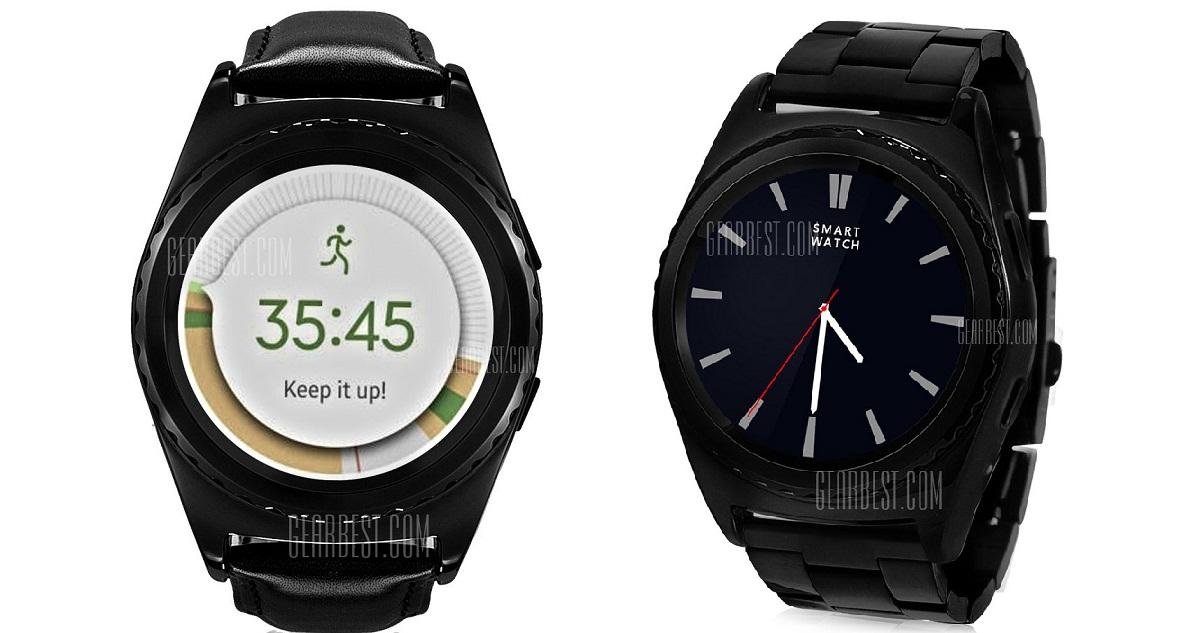 jk NO.1 G4, smartwatch cu ecran rotund si afisare completa