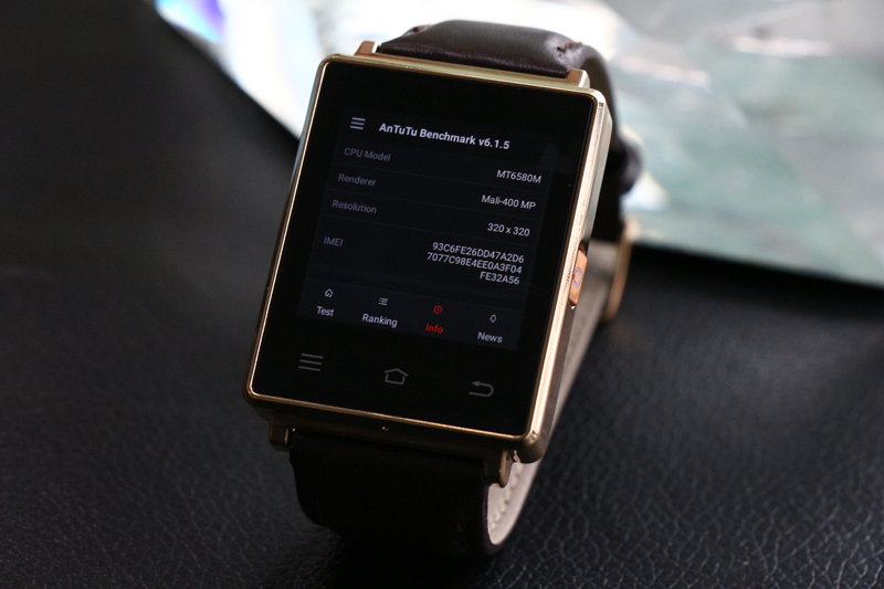 Au inceput vanzarile pentru ceasul cu Android No1 D6, 1GB RAM si 1GB ROM plus reducere de pret!