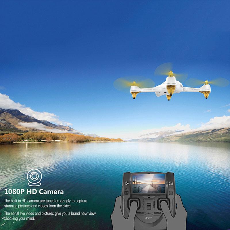 Vreti sa vorbim si despre o drona buna? Iata una - Hubsan H501S X4 5.8G