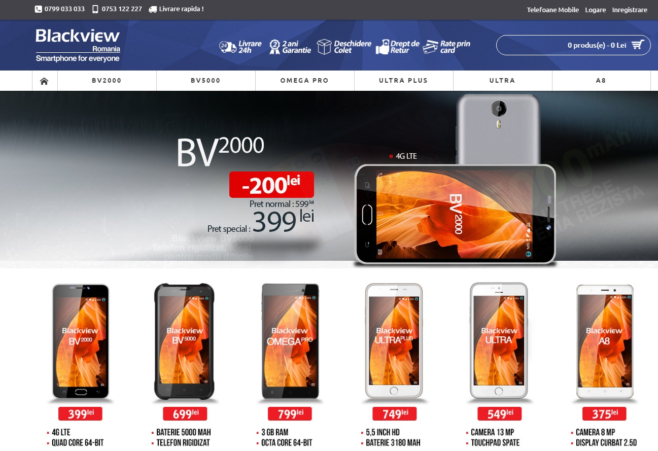 55555 Ulefone, Cubot, Blackview si Elephone au magazine in Romania! Sunt oficiale sau nu?