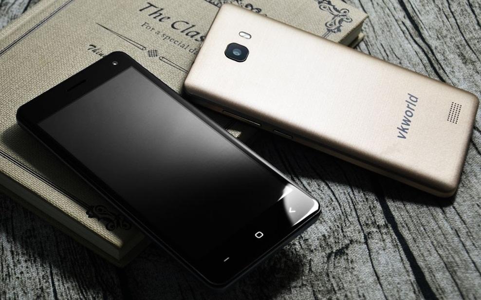 999 Vkworld T5 SE, telefon cu 4G si ecran HD la numai 160 lei!
