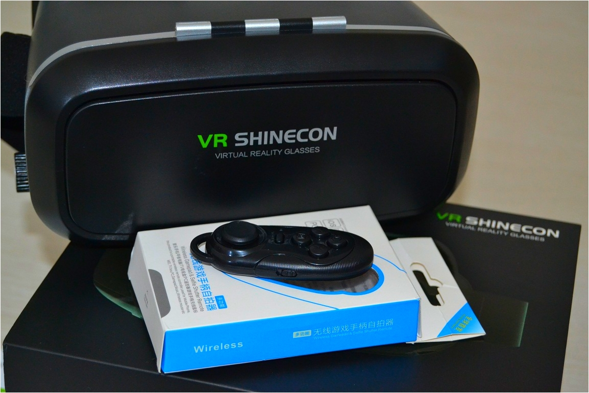 REVIEW ochelari realitate virtuala 3D VR SHINECON