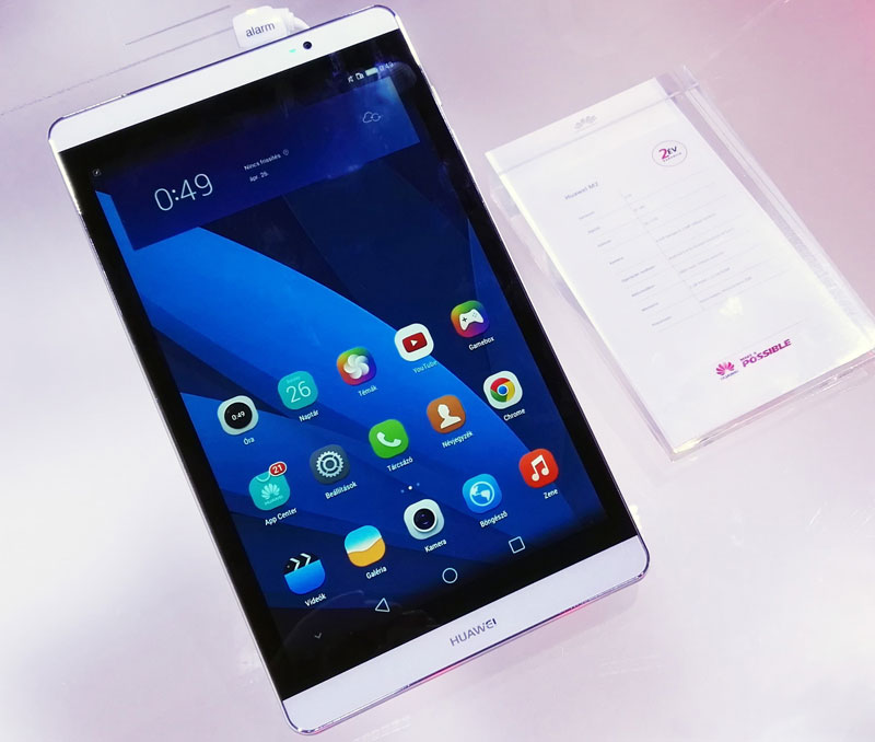 MediaPad-M2 Huawei lanseaza 2 tablete noi si cu specificatii bune in China, posibil sa ajunga si in Romania.