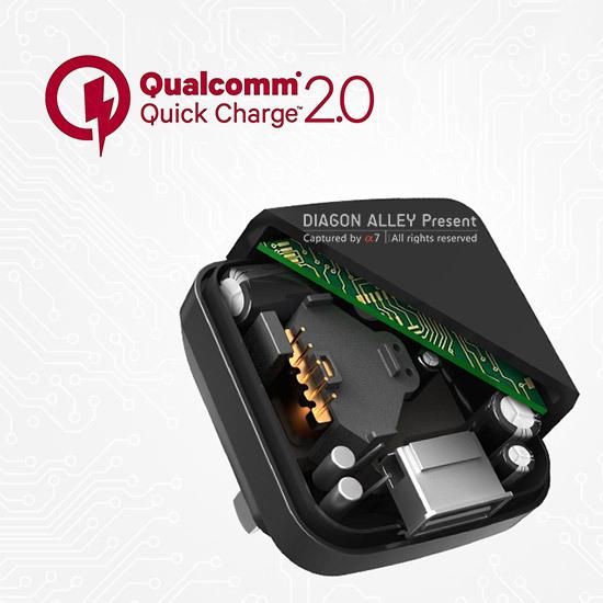 Origin-Rock-With-for-Qualcomm-Quick-Charge-2-0-Charger-Mobile-Phone-Plug-Traveling-Wall-Adapter Ce este incarcarea rapida, cum functioneaza si cum ne ajuta pe noi ?