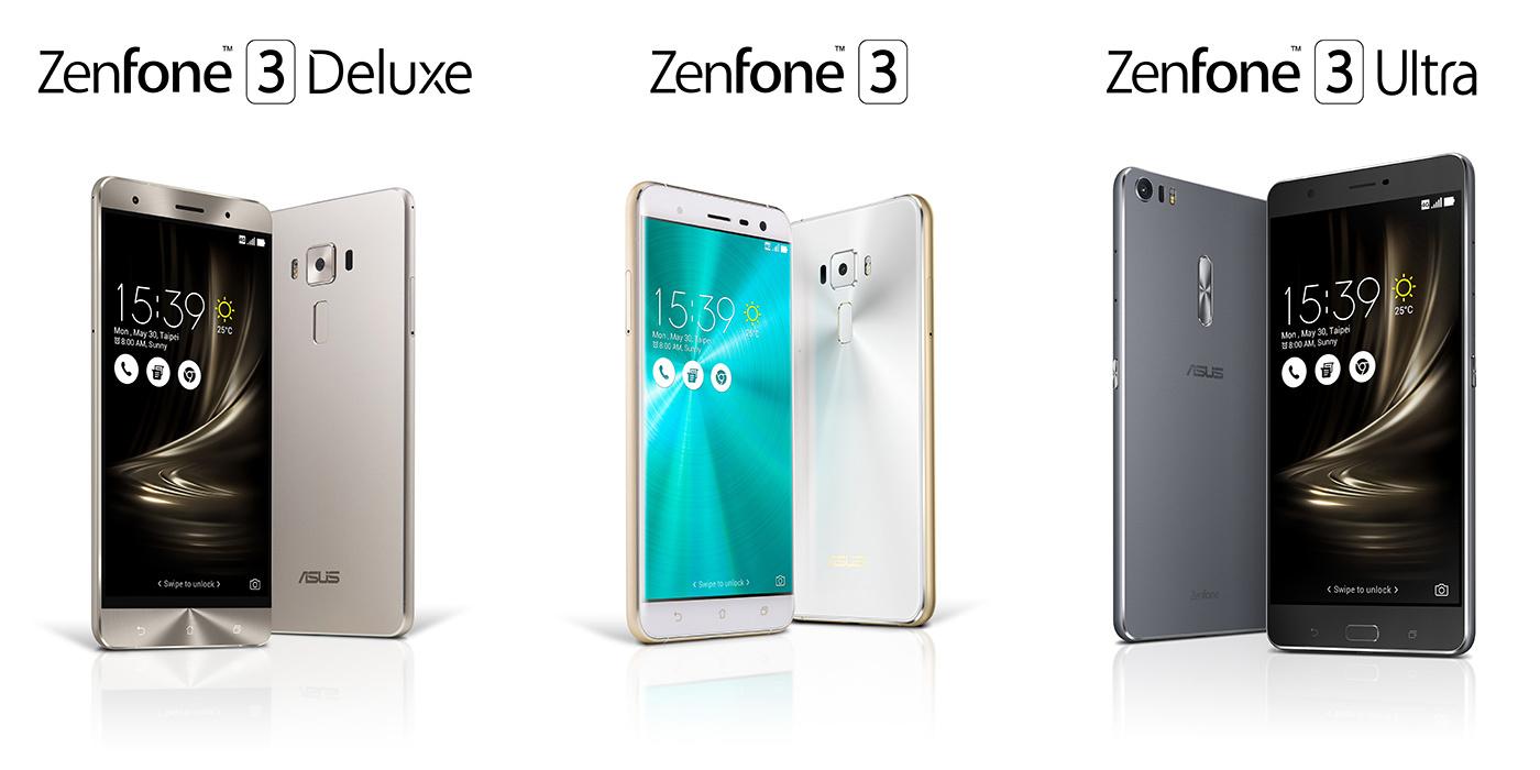 asus-zenfone-3-family-text Asus lanseaza noua generatie ZenFone, avem ZenFone 3, Zenfone 3 Deluxe si ZenFone 3 Ultra