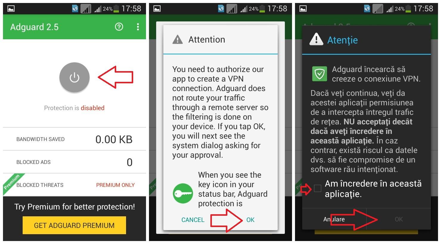 descărcare (1) Adguard - aplicatie ce blocheaza reclamele de pe Android, gratis si ce nu are nevoie de root