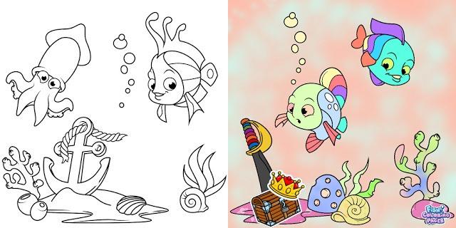 descărcare Aplicatie - carti de colorat gratuite pentru copii cu diferite teme si imagini