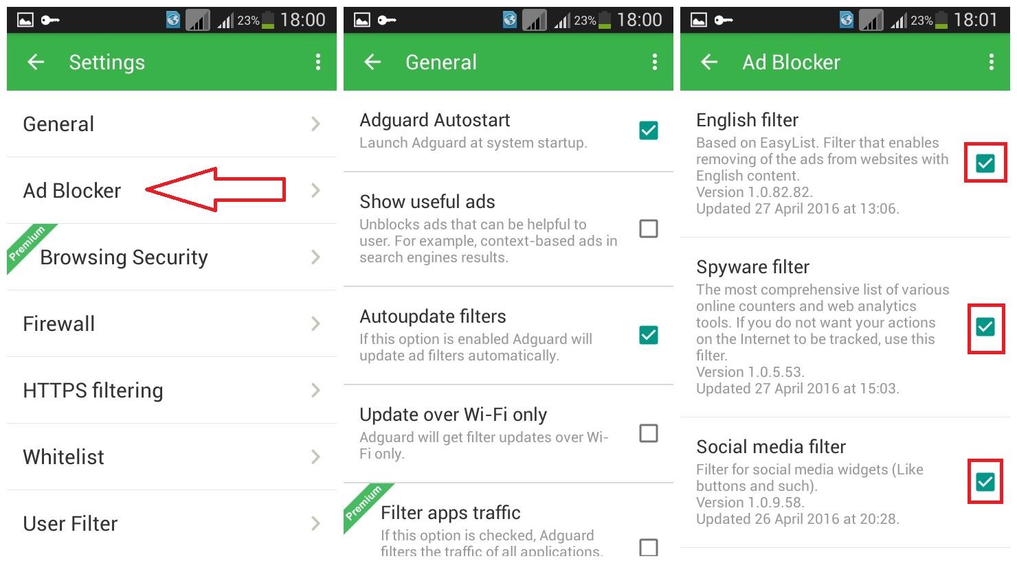 descărcare Adguard - aplicatie ce blocheaza reclamele de pe Android, gratis si ce nu are nevoie de root