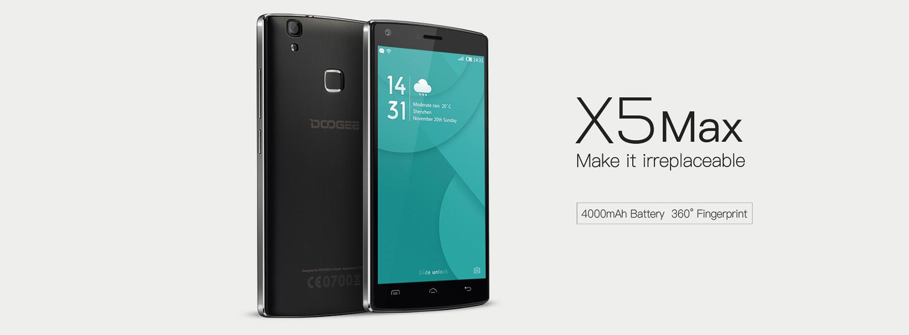 doogee x5 max 1 Inca o lansare noua in China, DOOGEE X5 MAX. Dar de ce MAX?