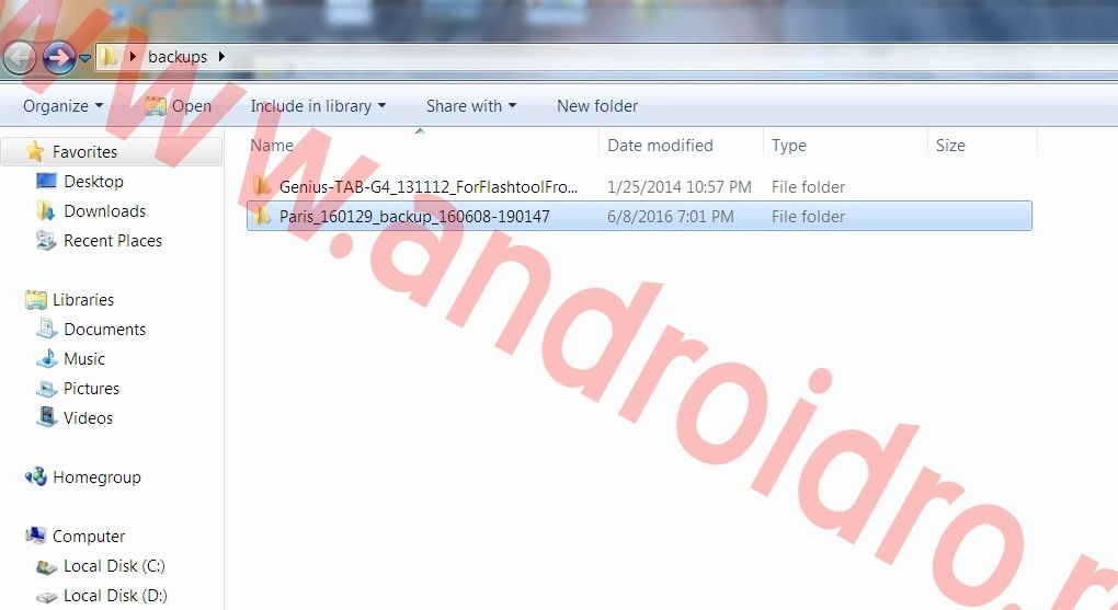 4 Tutorial, cum faci un full backup ROM pe MediaTEK cu MTK DROID TOOLS