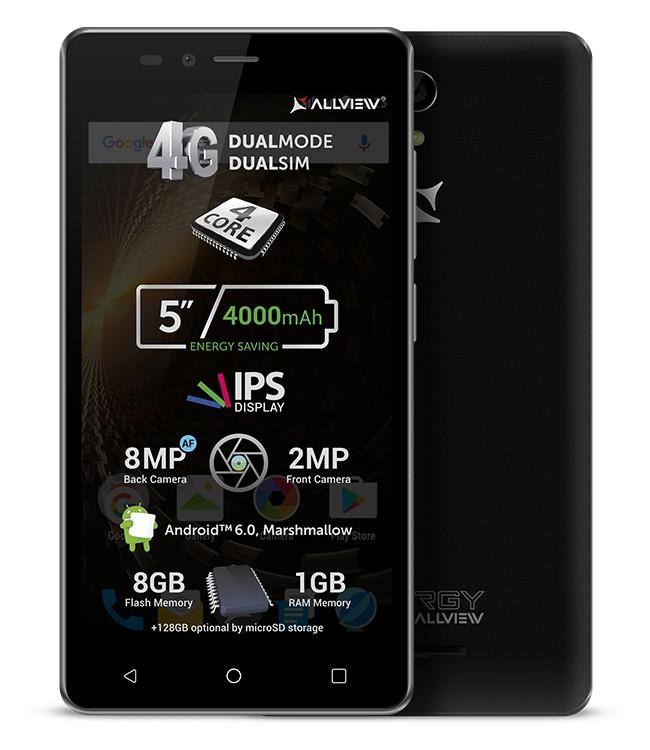 4545 Allview P6 Energy Lite cel mai recent smartphone lansat de companie