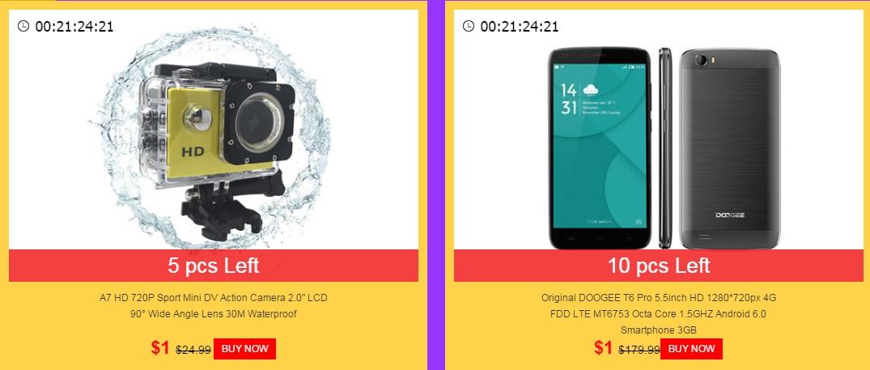 666 O noua super promotie in China, telefoane si alte produse la numai 1 dolar!