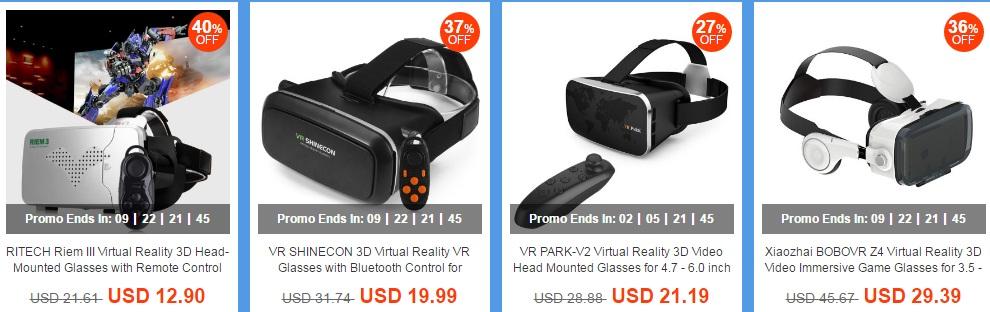 7878 Promotii pentru ochelari VR, ceasuri inteligente, casti dar si bratari fitness