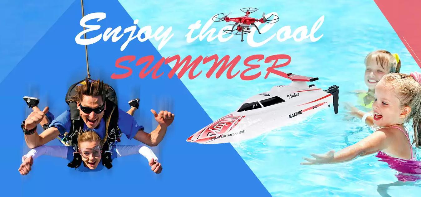 Capture Campanie de promotii la TomTop avem drone, masini teleghidate si jucarii la pret redus