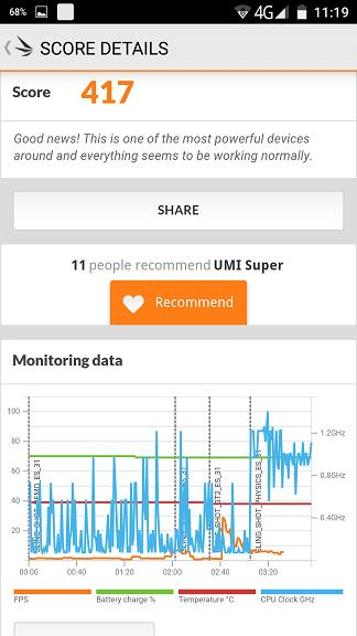 REVIEW UMI SUPER - testele de benchmark si puterea lui Helio P10