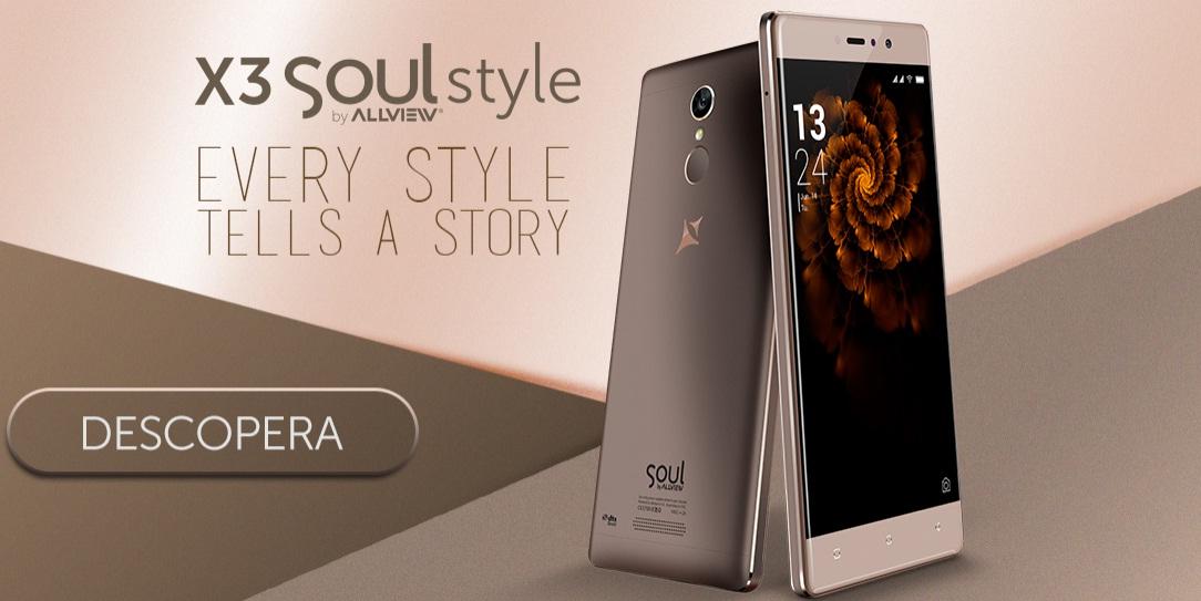 wewe Allview X3 Soul Style lansat, compatibil DIGI 4G, pret si cateva pareri
