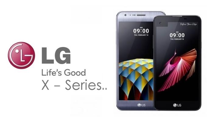 wewe LG lanseaza noi modele de telefoane X, LG X power, LG X mach, LG X style si LG X max
