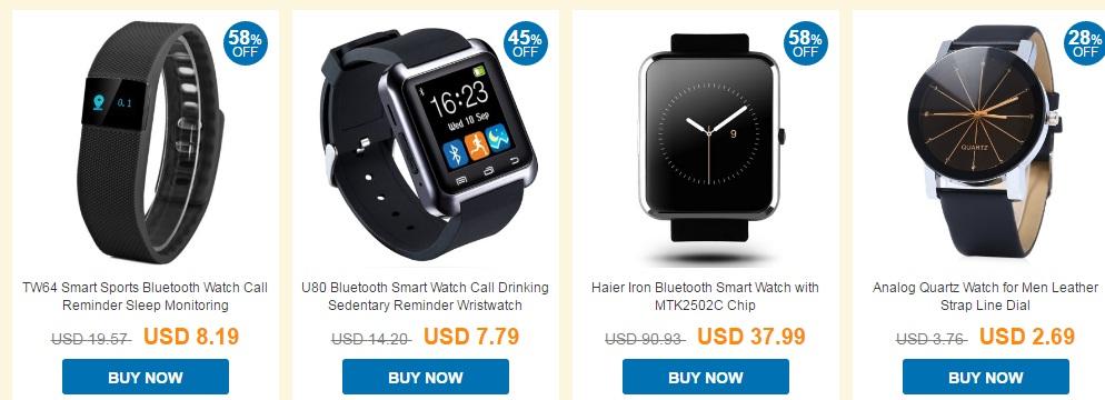 yu Ziua Barbatului este sarbatorita in China, avem smartwatch ieftin la 7 USD