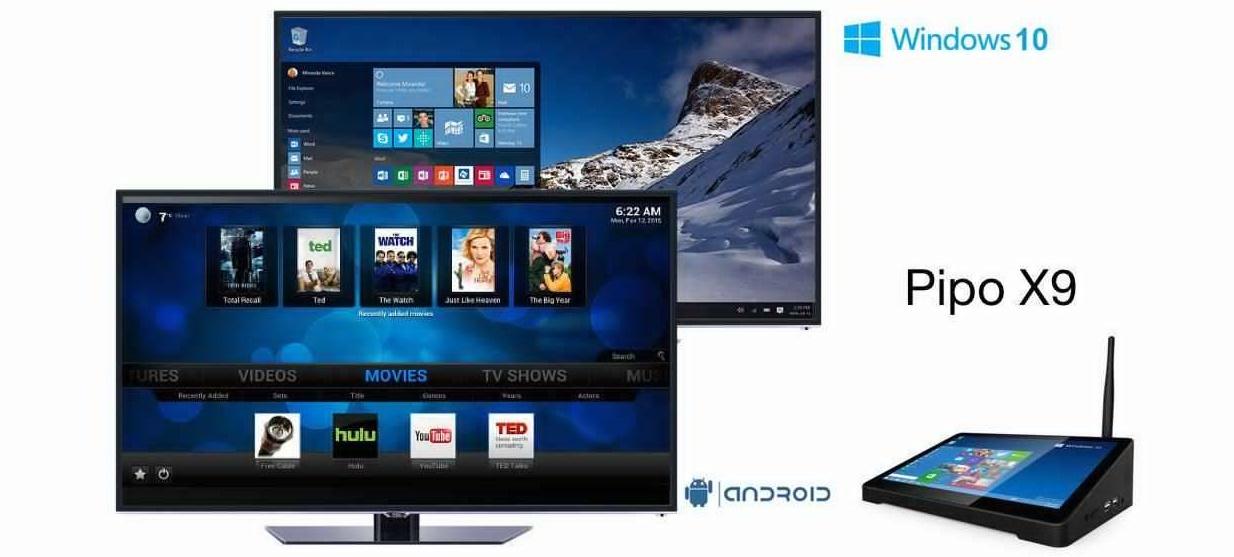 56 PiPO X9, un Smart TV Box interesant si cu design mai SF!