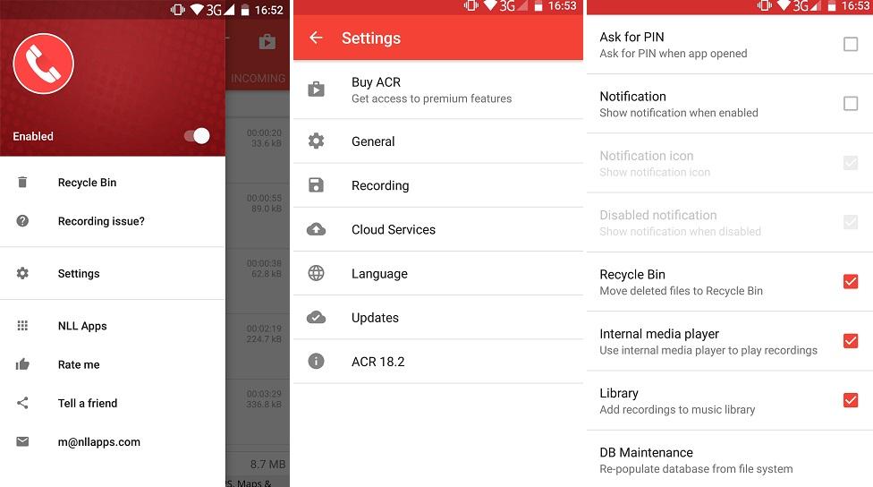 7 Aplicatie pentru inregistrarea automata a convorbirilor pe telefon