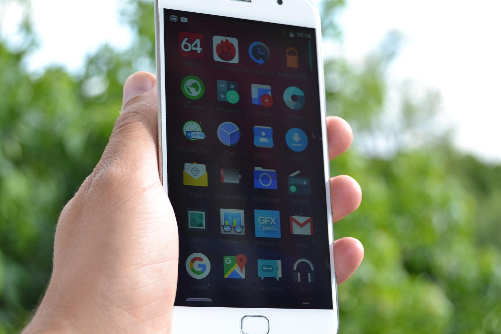 DSC_0427 REVIEW display UMi Touch si comparat cu UMi Super, tot partea de display