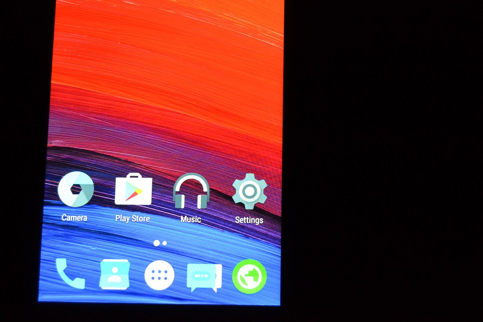 DSC_0439 REVIEW display UMi Touch si comparat cu UMi Super, tot partea de display