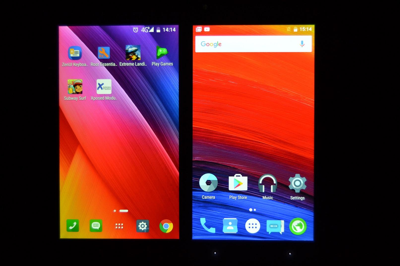DSC_0473 REVIEW display UMi Touch si comparat cu UMi Super, tot partea de display