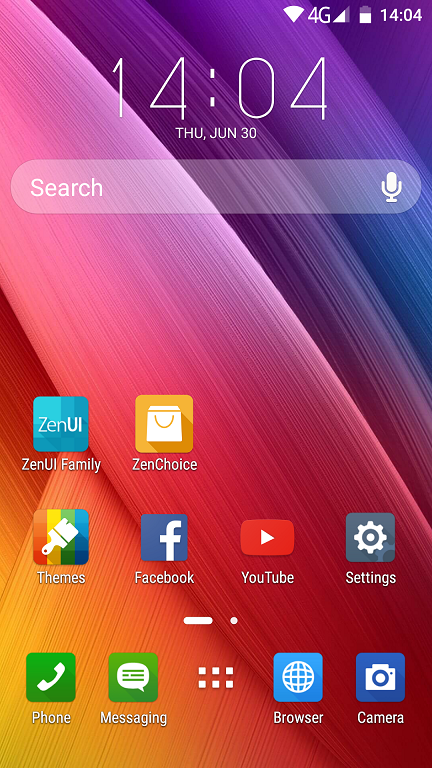 Review ASUS ZenUI Launcher, o tema buna si gratuita pentru telefon