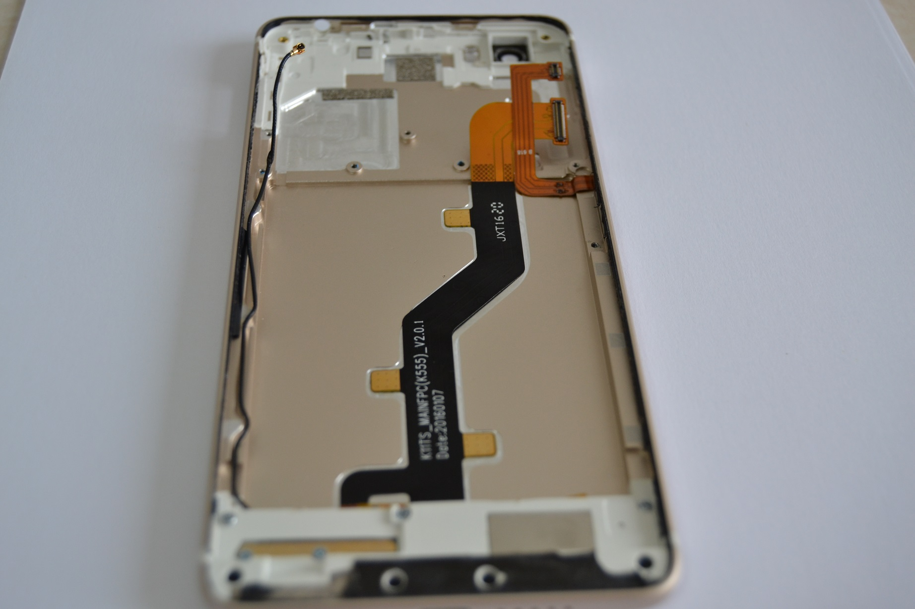 Ulefone Future spareparts Ulefone Future teardown, (desfacut)