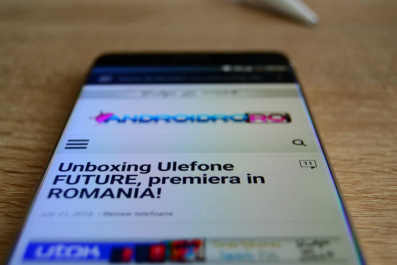 DSC_0678 Display Ulefone Future, este cel mai bun ecran al unui telefon chinezesc?