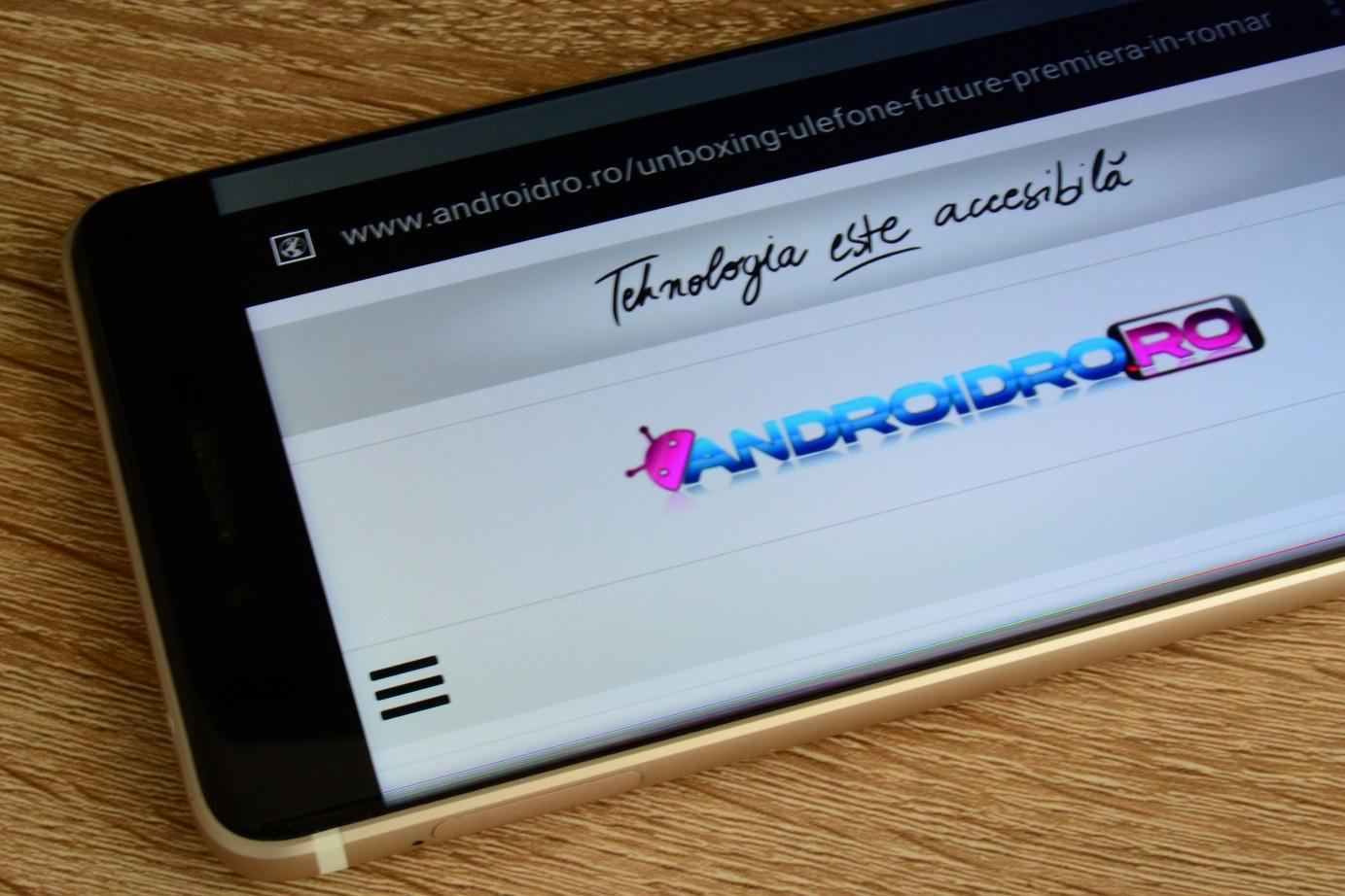 DSC_0686 Display Ulefone Future, este cel mai bun ecran al unui telefon chinezesc?