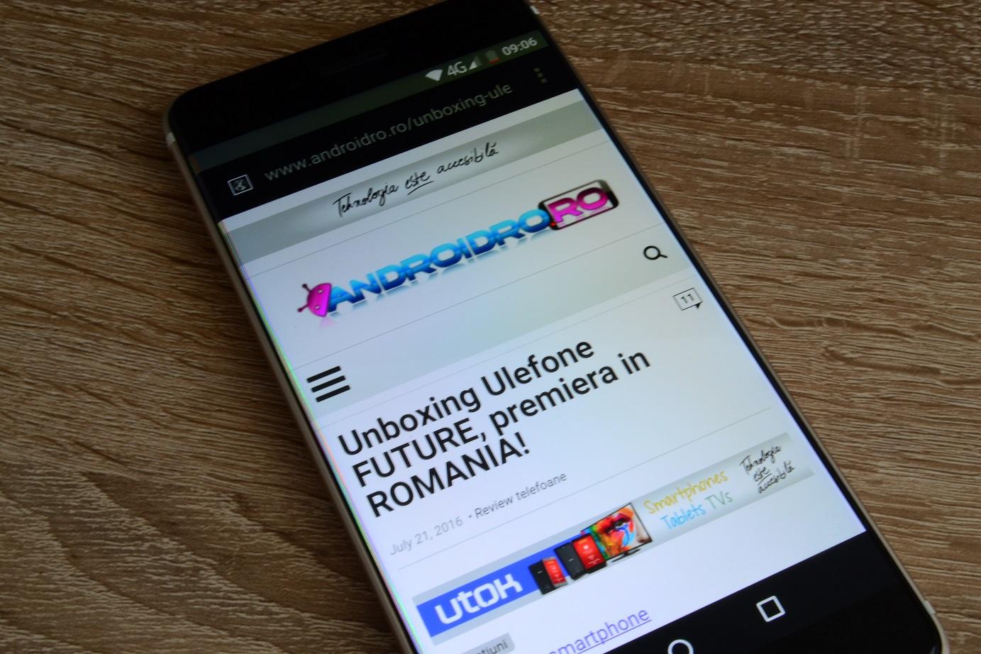 DSC_0687 Display Ulefone Future, este cel mai bun ecran al unui telefon chinezesc?
