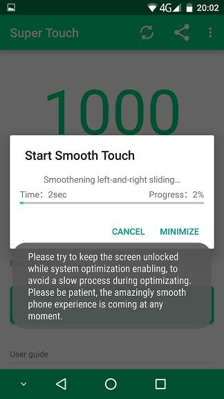 Super Touch, aplicatia care iti face ecranul mai sensibil la atingere si mai bun