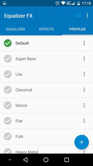 Equalizer FX PRO, egalizator destul de bun pentru Android
