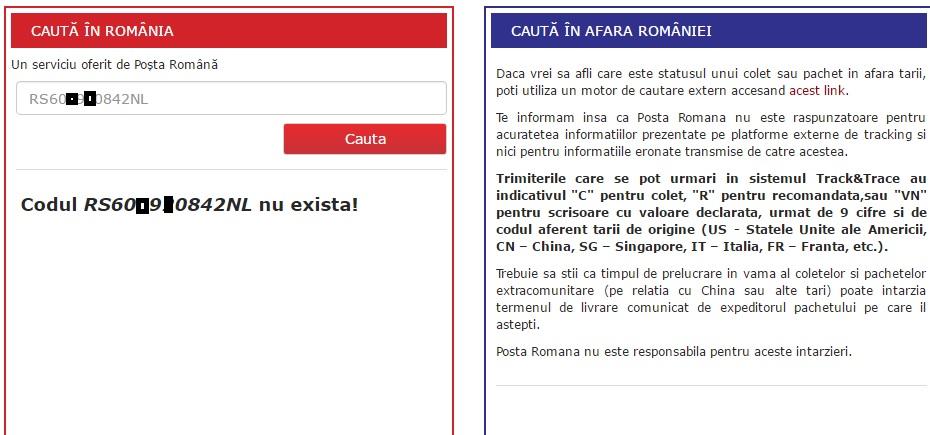 Untitled Cea mai buna metoda de a verifica acel tracking number pentru Posta Romana