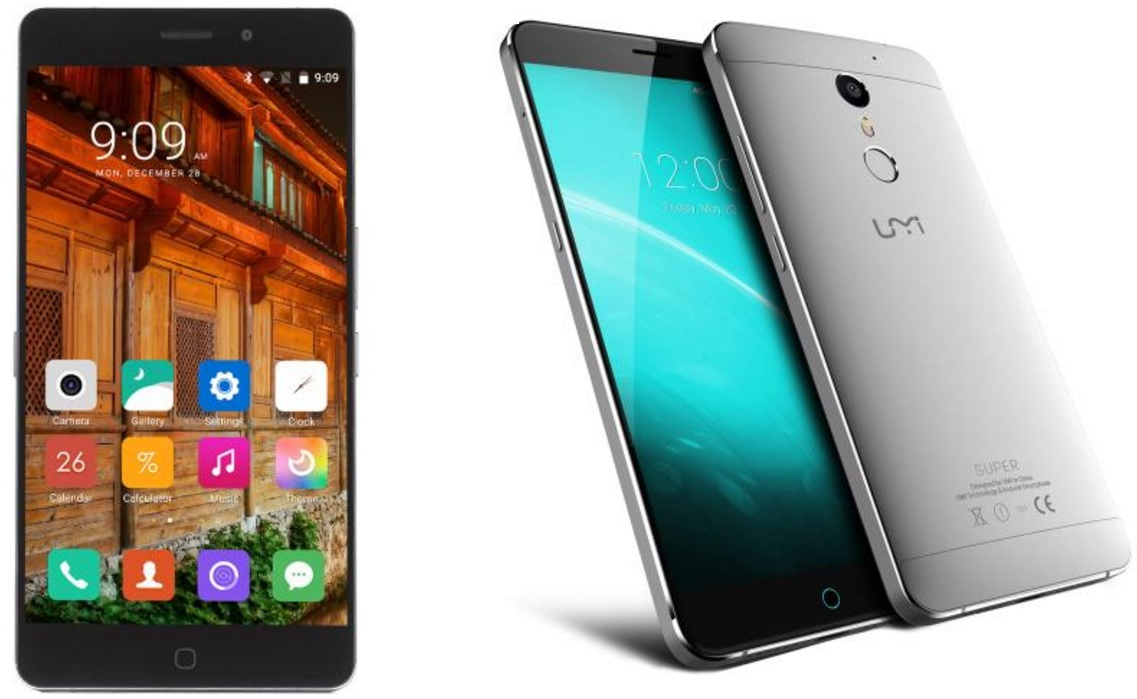 Untitled UMI Super vs Elephone P9000 Lite, specificatii identice, preturi bune!