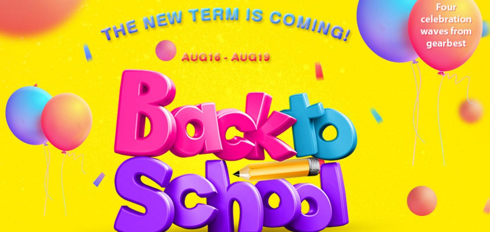 """Untitled Gearbest da drumul unei noi promotii sub titlul """"back to school"""""""