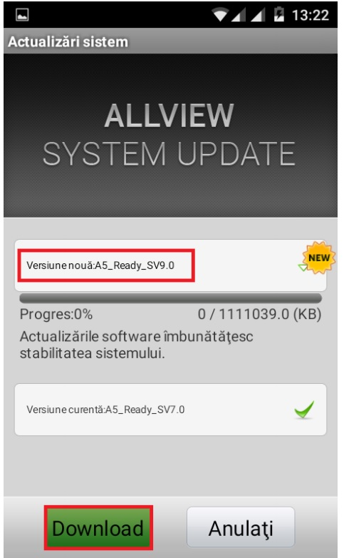 Untitled Allview A5 Ready primeste un update oficial la Android Marshmallow