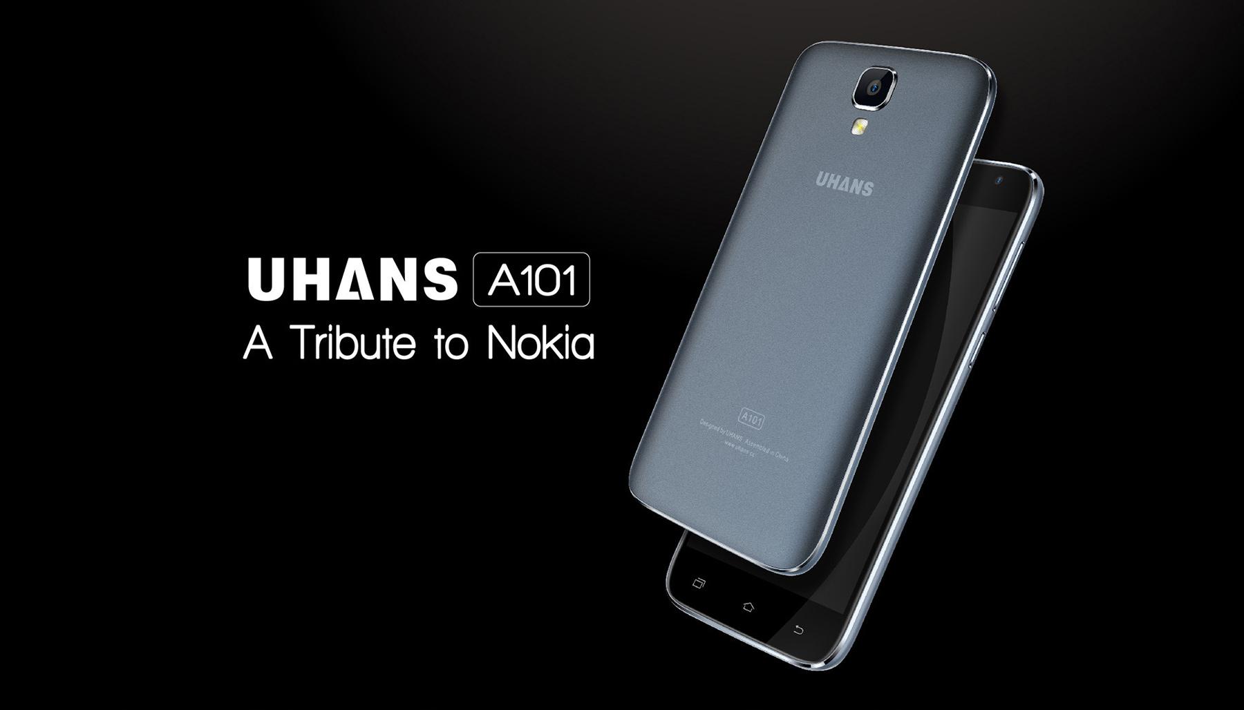 1472613376357349 UHANS A101, poate cel mai ieftin telefon cu 4G si display HD