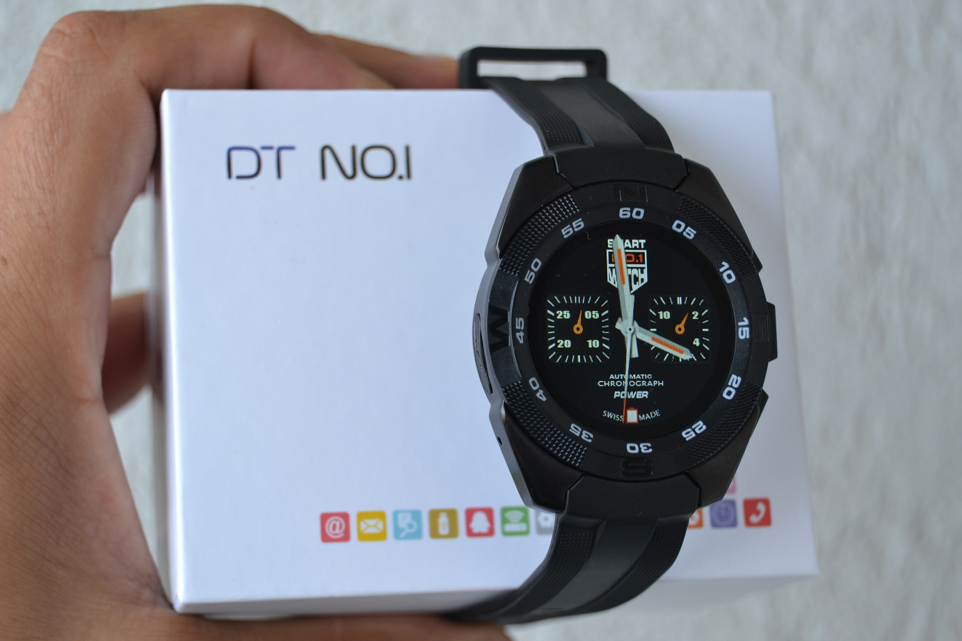 DSC_0748 NO.1 G5 smartwatch, unboxing si scurt review, pret mic si dotari bune