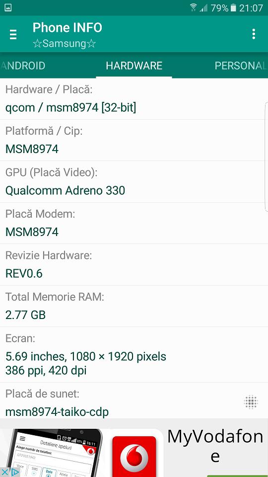 Super aplicatie utila pentru toate telefoanele Samsung, ofera informatii concrete !