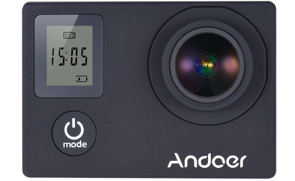 andoer-111 Andoer, camera de actiune cu filmare 4K, telecomanda si doua ecrane
