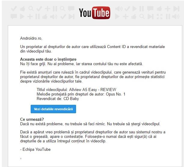 erer Se fac bani din YouTube in 2016? Ce patesti daca pui o melodie cu copyright in clip?