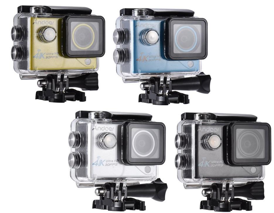 erfgwaevw Andoer 4K, camera sport de actiune ieftina si cu filmare 30fps